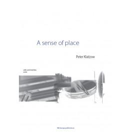 KLATZOW, P., A sense of place (cello and marimba) (score & parts)